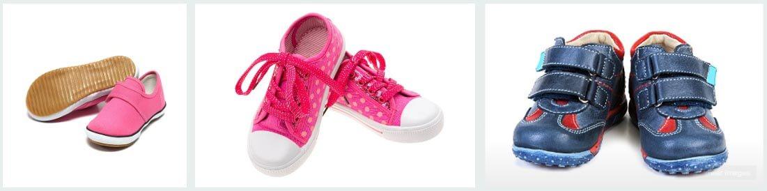 Виды детских кроссовок