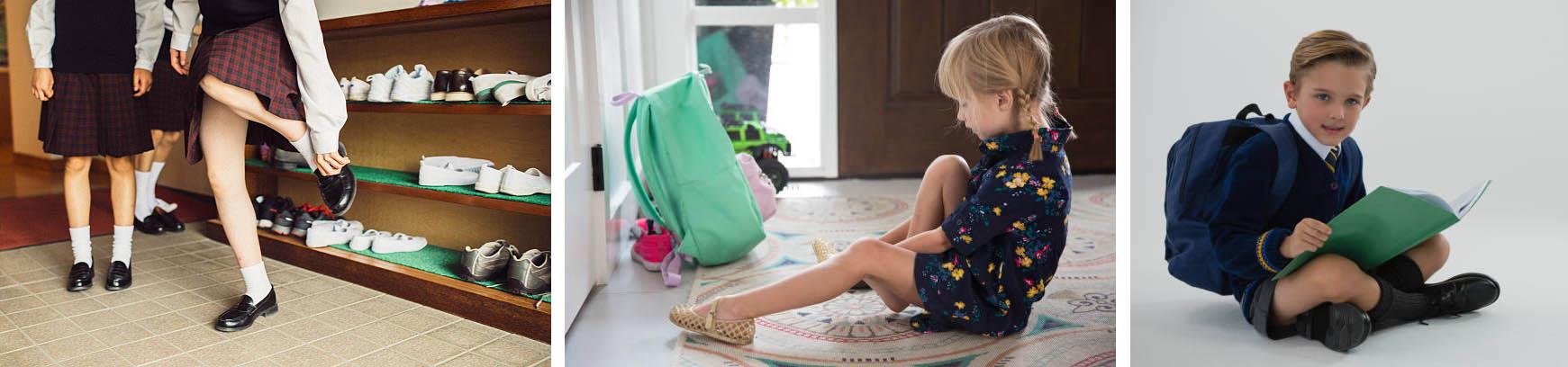 Виды детских туфель