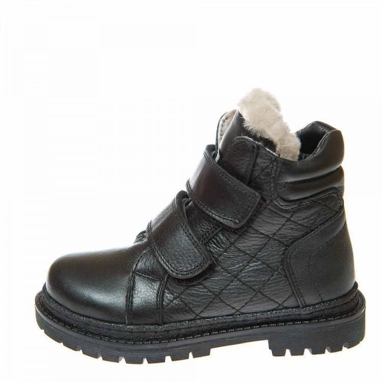 Зимние ботинки OCAK 126(26) чёрные (37-40)