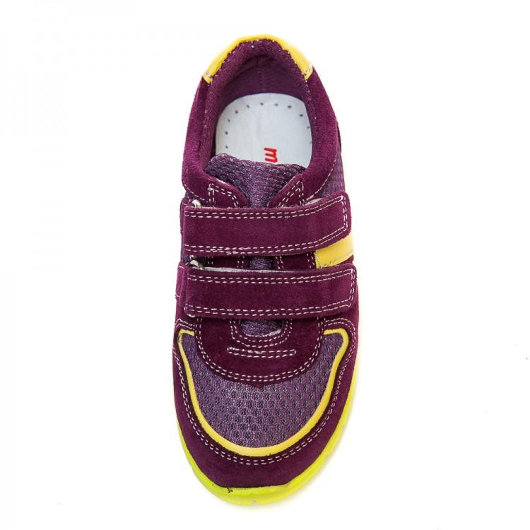 Кроссовки minipicco сиреневые для мальчика