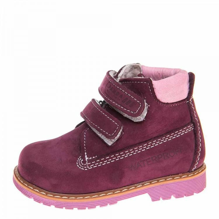 Зимние ботинки Panda 9005(137)сирен.нубук (31-36)