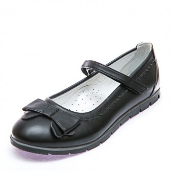 Туфли Sibel Bebe T706 чёрн бант
