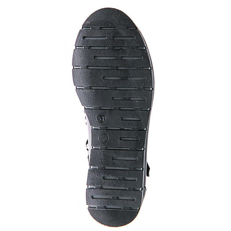 Туфли Sibel Bebe T691 чёрн бантик