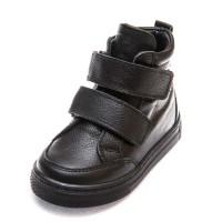 Ботинки д/с Minibel 345 PP 2липучки черные (21-25)