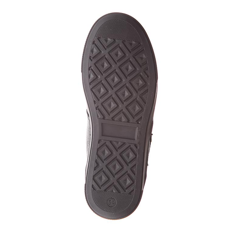 Ботинки д/с Minibel 344SRчерные липучка (37-40)