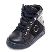 Ботинки д/с Minibel 336 PP (21-25) синие шнурок