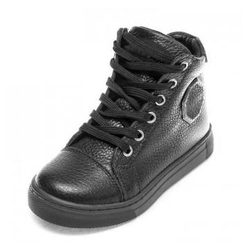 Ботинки д/с Minibel 343 SR шнурок черные (26-30)
