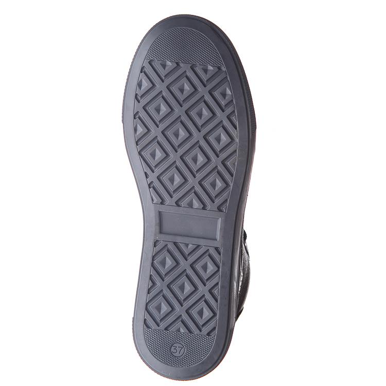 Ботинки д/с Minibel 343 SR(37-40) шнурок темно-синие