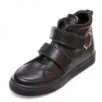 Ботинки д/с Minibel 345 PP 2липучки черные (26-30)
