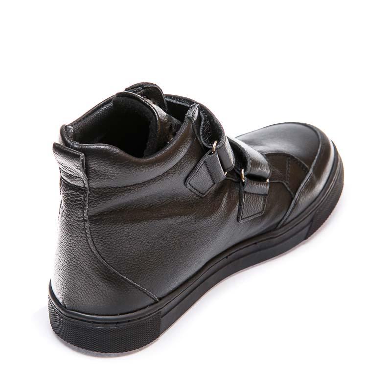 Ботинки д/с Minibel 345 PP 2липучки черные (31-36)