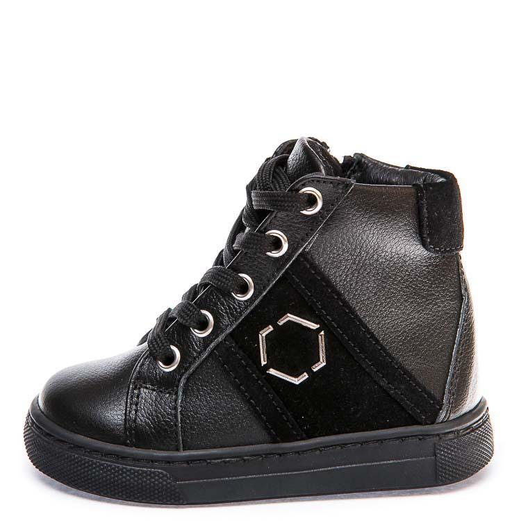 Ботинки д/с Minibel 336 PP (21-25) черные шнурок