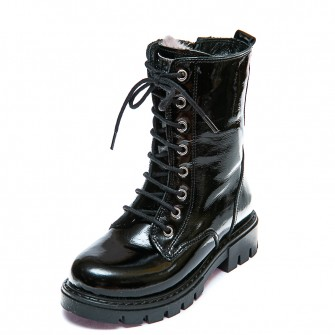 Зимние ботинки K.Pafi 110(34)лак(28-30)