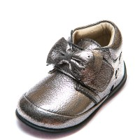 Ботинки MiniLady 571 бронза бант(19-20)
