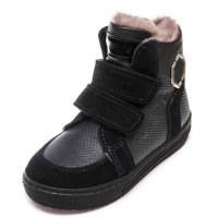 Зимние ботинки Minibel Z345PP(22-25) темно-синие 2 лип