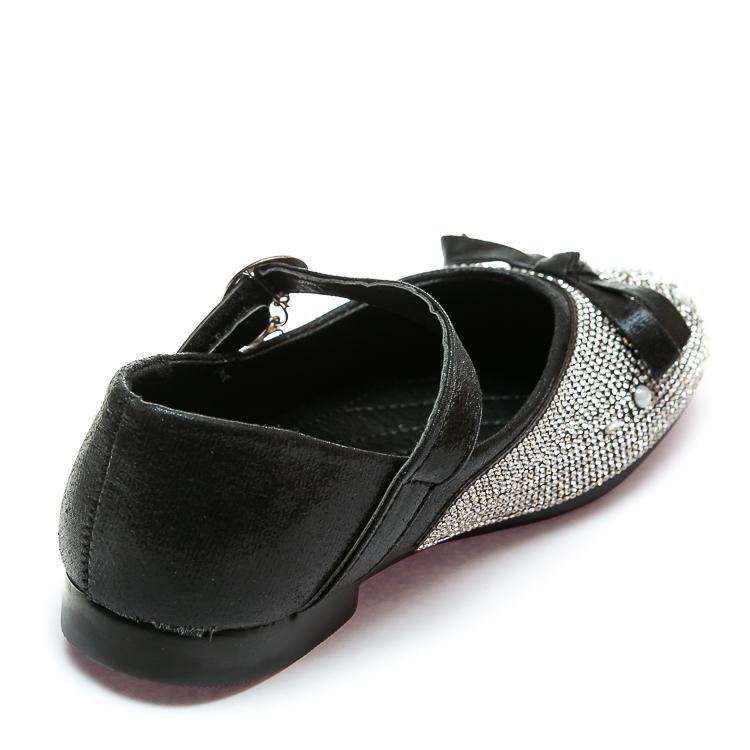 Балетки Fashion B-3 черные(32-37)