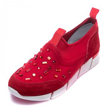 Кроссовки  Minibel 17F16121 красные (31-36)