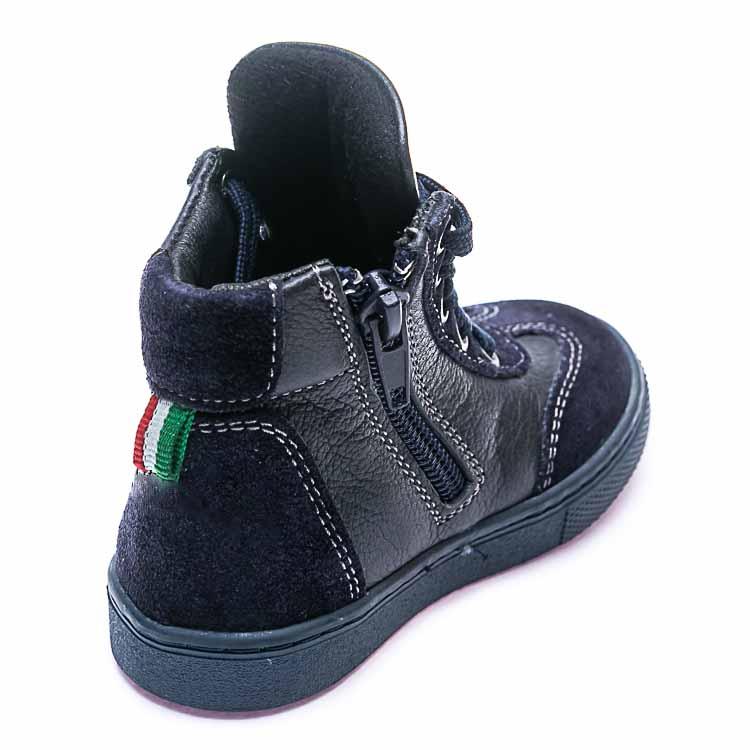 Ботинки д/с Minibel 210-352 A син.шнурок (21-25)
