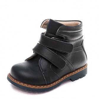 Ботинки д/с Panda 8005B(17-359)син.кожа(21-25)