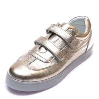 Кроссовки OCAK 102(03)золото кожа