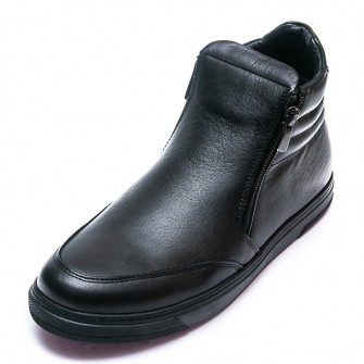 Ботинки д/с OCAK 109(26)чёрная кожа (31-36)