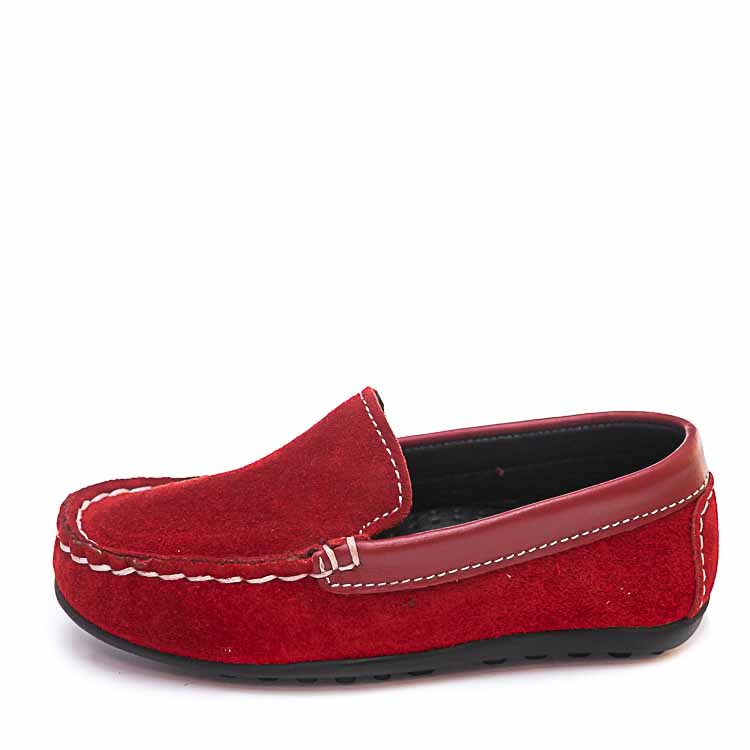 Мокасины Minibel 23B901 -3 Fr красные (22-25)