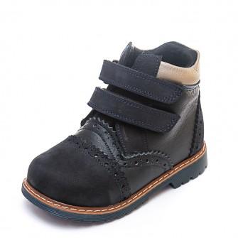 Ботинки д/с Panda 075B(3)темно-синие (21-25)