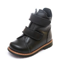 Ботинки д/с Panda 075B(7)чер.кожа (21-25)