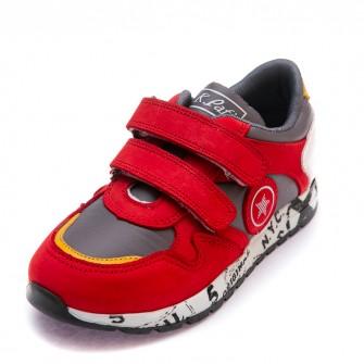 Кроссовки K.Pafi красные для девочки