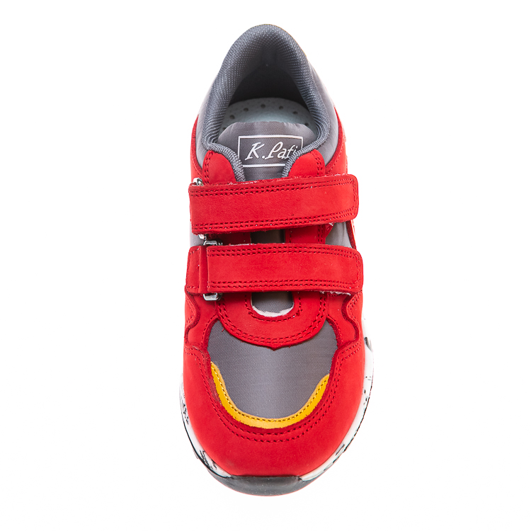 Кроссовки K.Pafi 17645(29)(27-30)красные