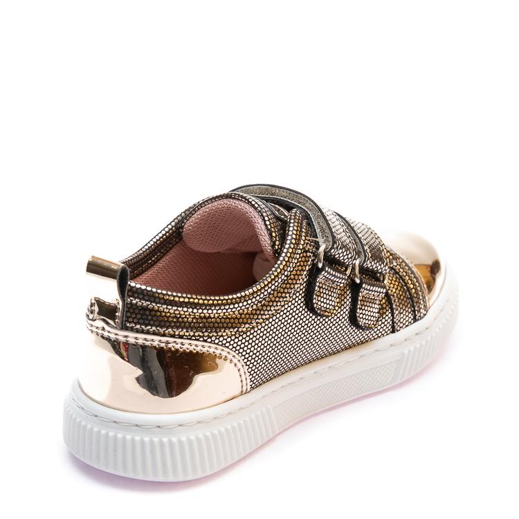 Кроссовки K.Pafi золотистые для девочки