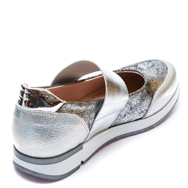 Открытые туфли K.Pafi 19910(31)(31-36)серебро резинка