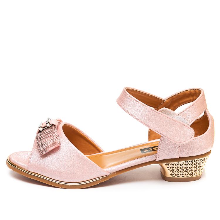 Туфли Fashion A02(32-37)роз.золото каблук