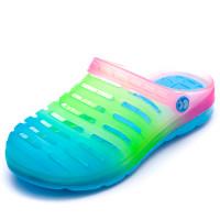 Кроксы Super Gear 233-4 радуга синяя