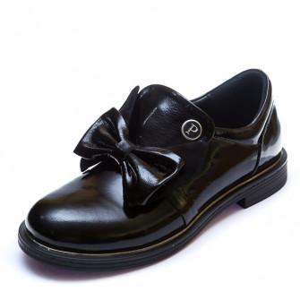 Туфли K.Pafi 381(106-6)(37-39)черн.лак