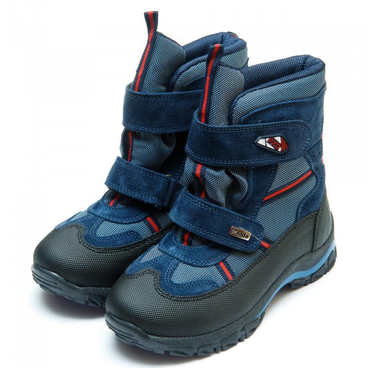 Термо ботинки Panda 329(3)синие(31-36) PN