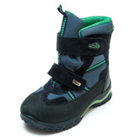 Ботинки зима Panda 329(1)син.зелен(31-36) PN