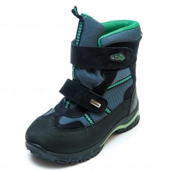 Термо ботинки Panda 329(1)син.зелен.(26-30) PN