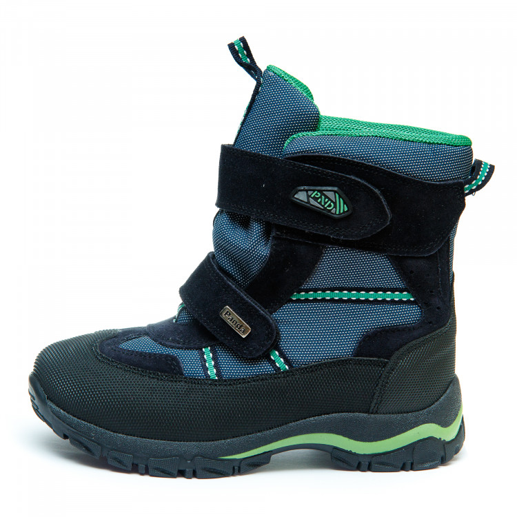 Термо ботинки Panda 329(1)син.зелен(31-36) PN
