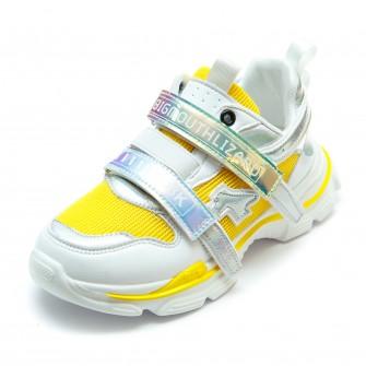Кроссовки BiQi WASP жёлтые для девочки