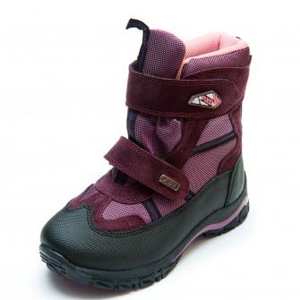 Термо ботинки Panda 329(7)сирень(26-30) PN