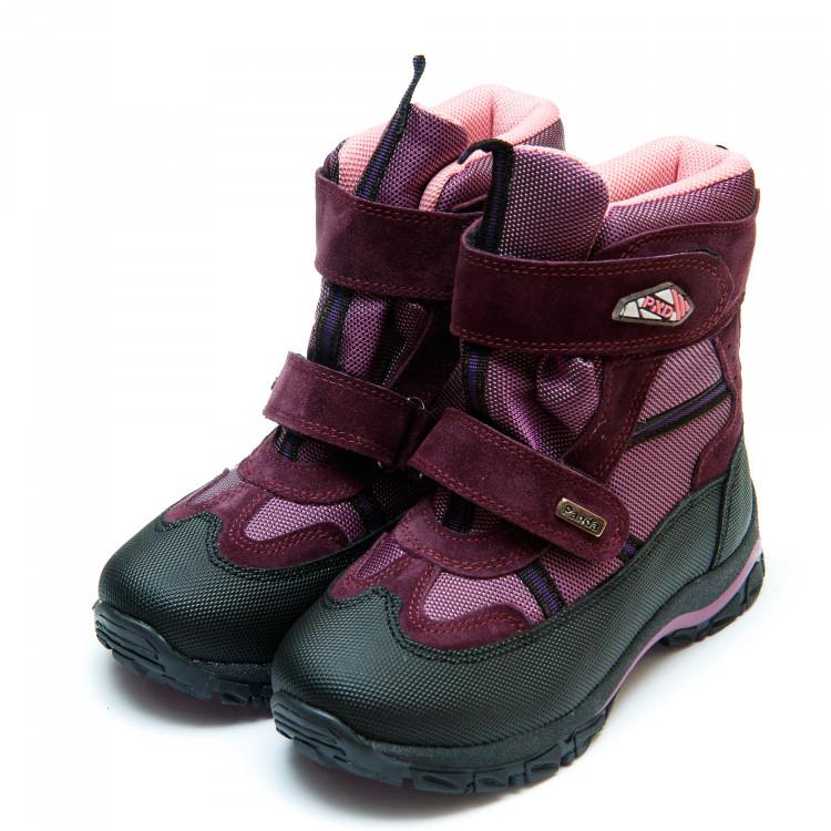 Термо ботинки Panda 329(7)сирень(26-30)