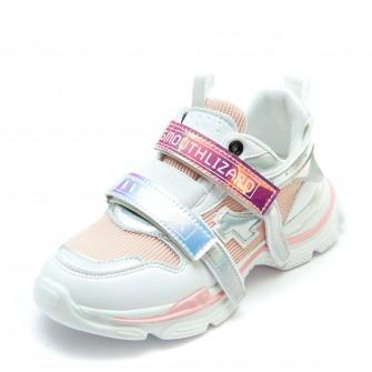 Кроссовки BiQi WASP розовые для девочки