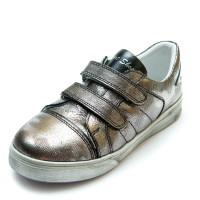 Кроссовки Panda 1177(55)серебро(26-30)