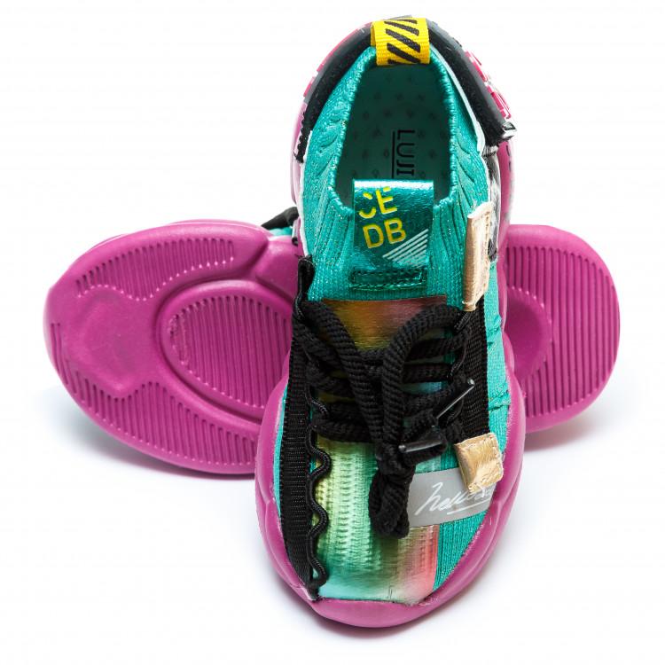 Кроссовки BiQi WASP зелёные для девочки