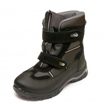 Термо ботинки Panda 329(2)черн.(37-40)