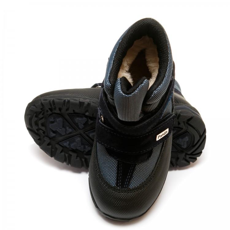 Термо ботинки Panda 330(2)синие(26-30)