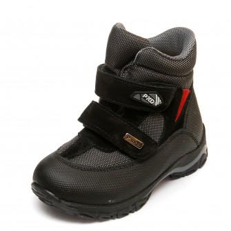 Термо ботинки Panda 330(1)черные(26-30)