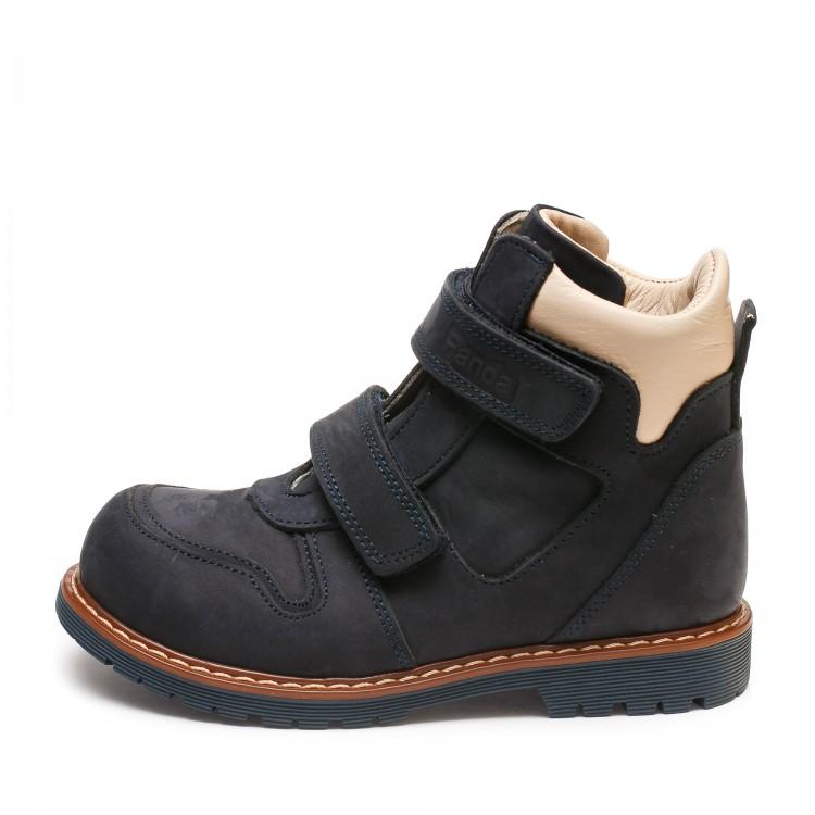 Ботинки зима Panda 01141P(169)син/беж(26-30)