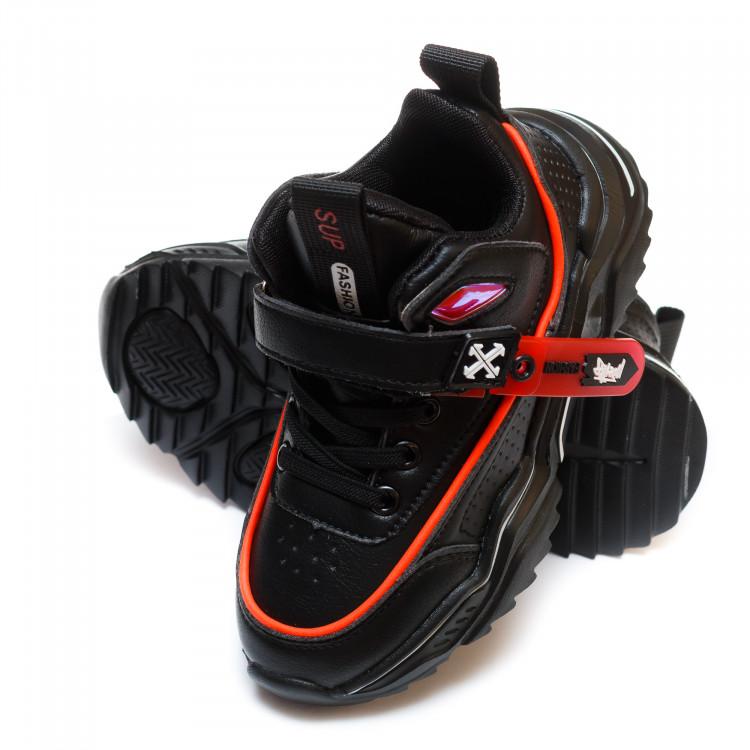 Кроссовки Fashion SD77(26-31)черные
