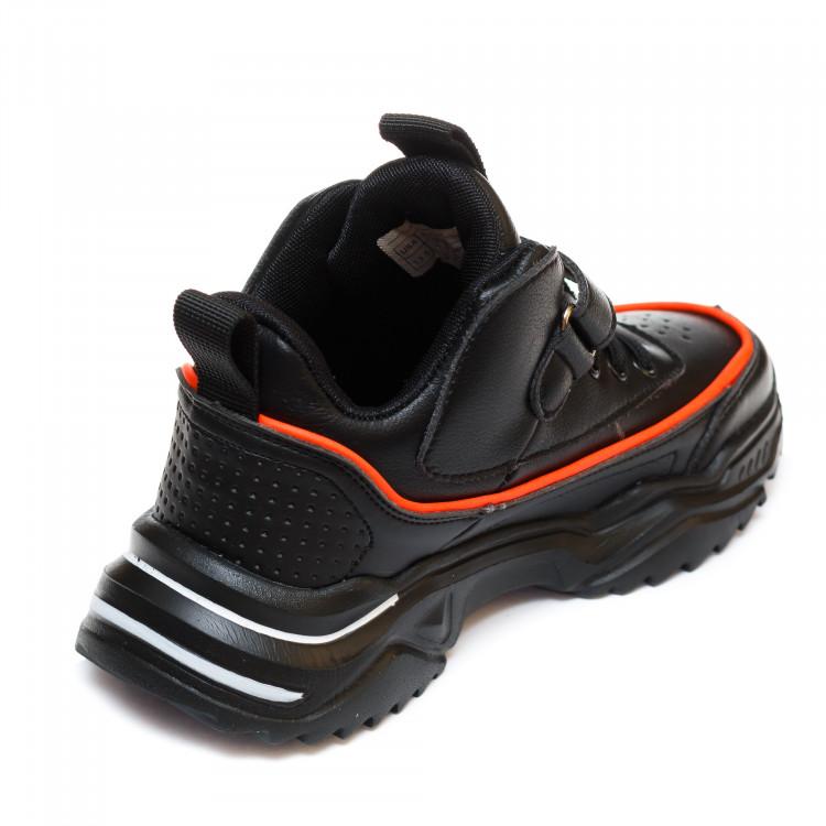 Кроссовки Fashion SE77(32-37)черные